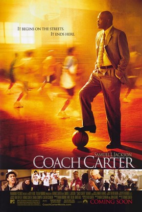 Framed Coach Carter Print