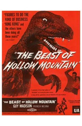 Framed Beast of Hollow Mountain Print