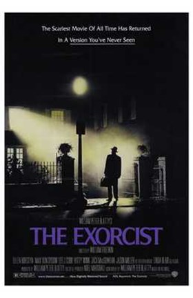 Framed Exorcist Scariest Movie Print