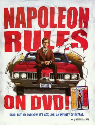 Framed Napoleon Dynamite Rules! Print