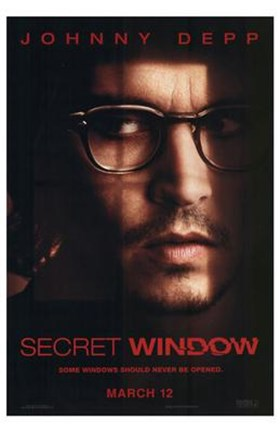 Framed Secret Window Print