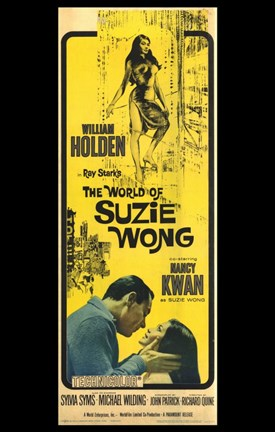 Framed World of Suzie Wong Print