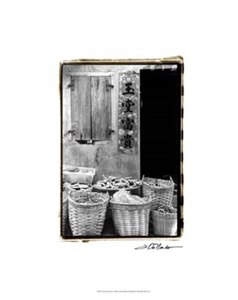 Framed Chinese Bounty Print