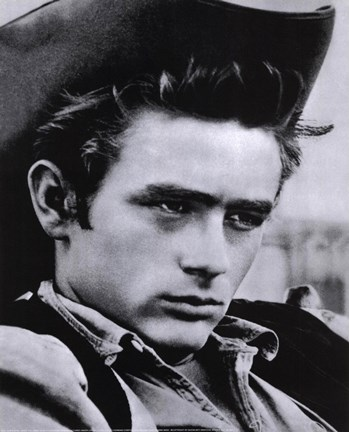 Framed James Dean Print