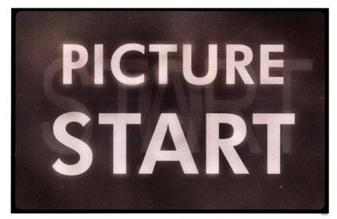 Film Leader Picture Start Fine Art Print by Kenneth Ridgeway at ...