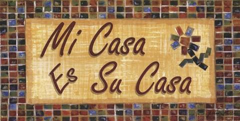 Mi Casa Es Su Casa Fine Art Print By Grace Pullen At