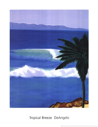 Framed Tropical Breeze Print