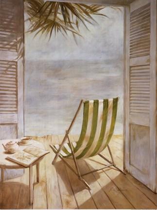 Seaside Morning Fine Art Print by Fabrice De Villeneuve at ...