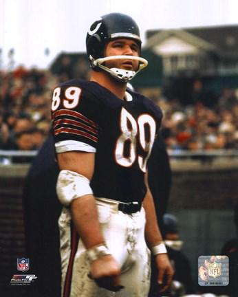 Mike Ditka Player Fine Art Print By Unknown At