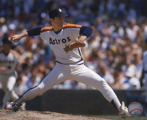Framed Nolan Ryan - 1988 Action Print