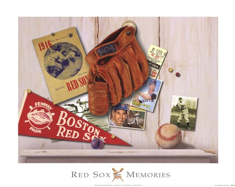 Framed Red Sox Memories Print