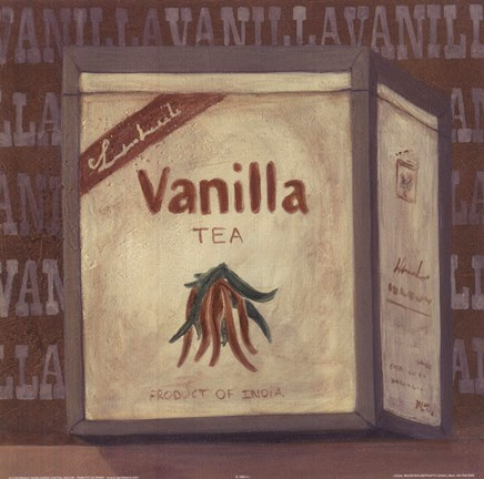 Framed Vanilla Tea Print