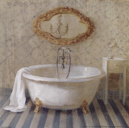 Victorian Bath Ii Fine Art Print By Danhui Nai At
