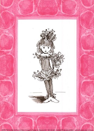 Sugar Plum Ballerina Fine Art Print by Patricia Maccarthy at ...