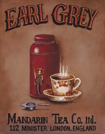 Framed Earl Grey - mini Print