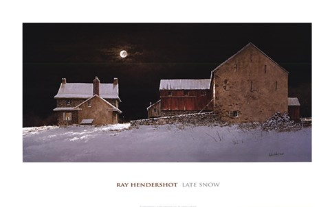 Late Snow by Ray Hendershot