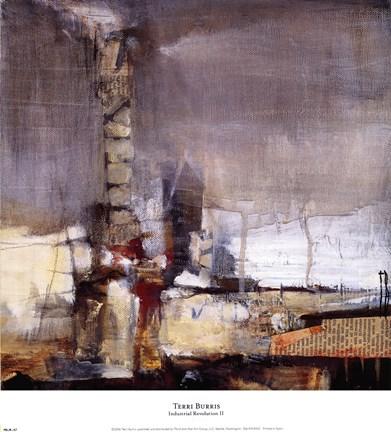 Industrial Revolution Ii Fine Art Print By Terri Burris At