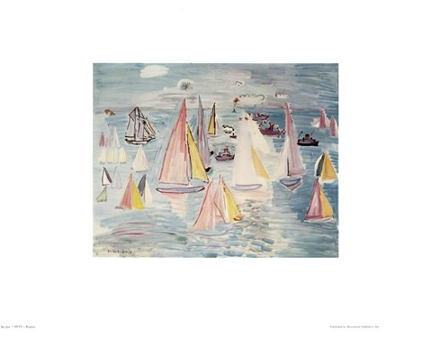 Framed Regatta Print
