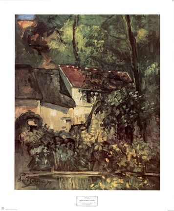 Framed House of Pere Lacroix Print
