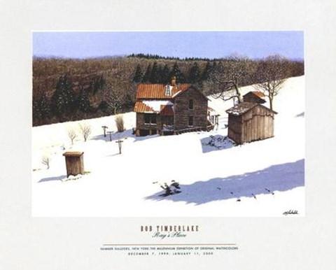 Ray S Place Fine Art Print By Bob Timberlake At