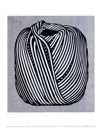 Framed Ball of Twine, 1963 Print