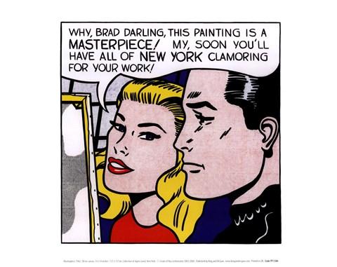 Masterpiece 1962 fine art print by roy lichtenstein at roy lichtenstein masterpiece 1962 voltagebd Images
