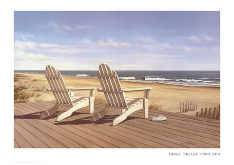 Point East Fine Art Print By Daniel Pollera At
