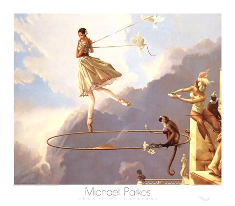 Tuesday S Child Fine Art Print By Michael Parkes At