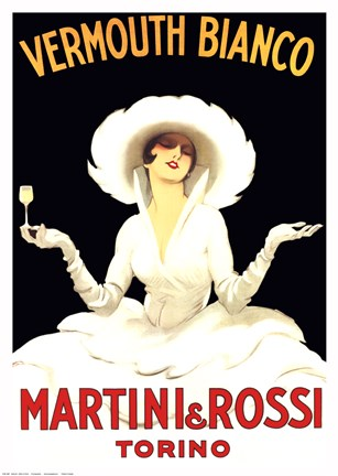 Framed Martini and Rossi Print