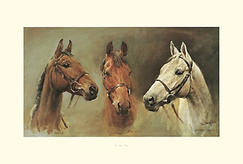 Framed We Three Kings Print