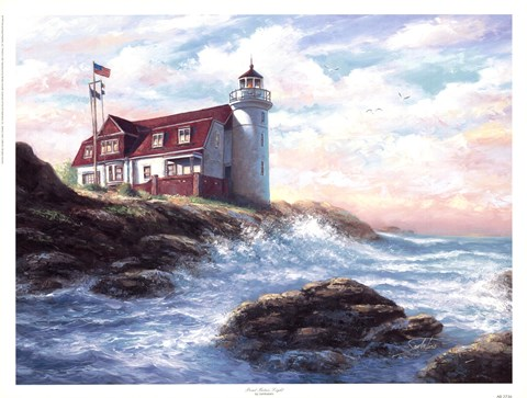 Framed Point Betsie Light Print