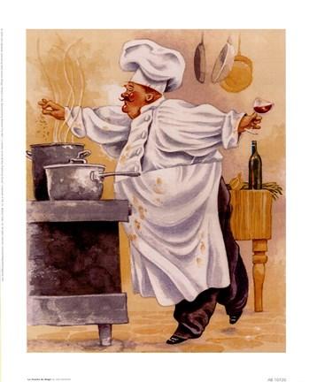 La Touche De Magic Fine Art Print By John Bardwell At