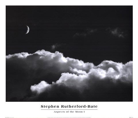 Aspects Of The Moon I by Stephen Rutherford-Bate