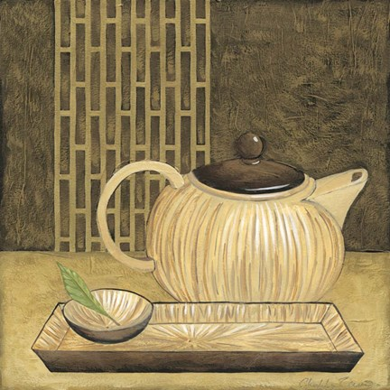 Framed Bamboo Pot Print