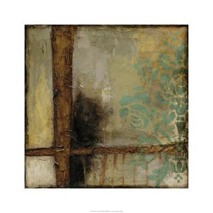Framed Patina Abstract II Print