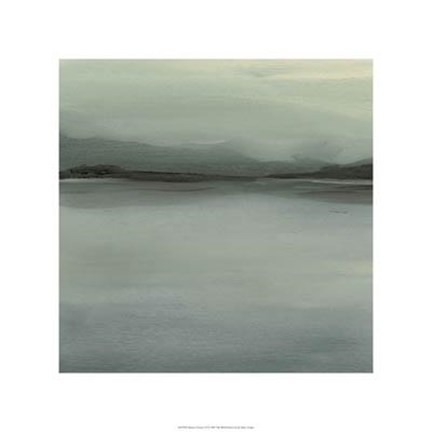 Framed Abstract Horizon VI Print