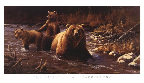 The Bathers Fine Art Print By Paco Young At Fulcrumgallery Com