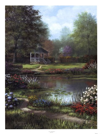 Framed Across The Pond Print