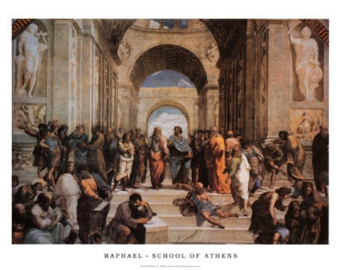 an analysis of the painting the school of athens by raphael Unlike most editing & proofreading services, we edit for everything: grammar, spelling, punctuation, idea flow, sentence structure, & more get started now.