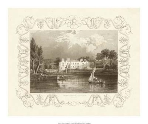 Framed Views Of England IV Print