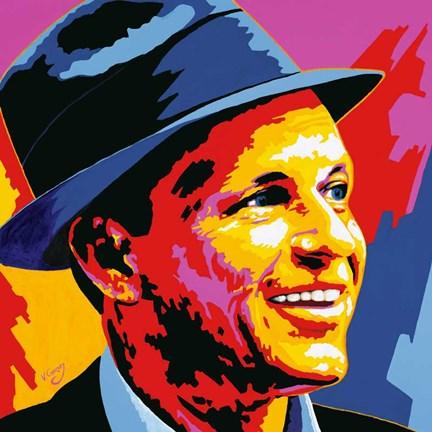 Frank Sinatra Fine Art Print By Vladimir Gorsky At