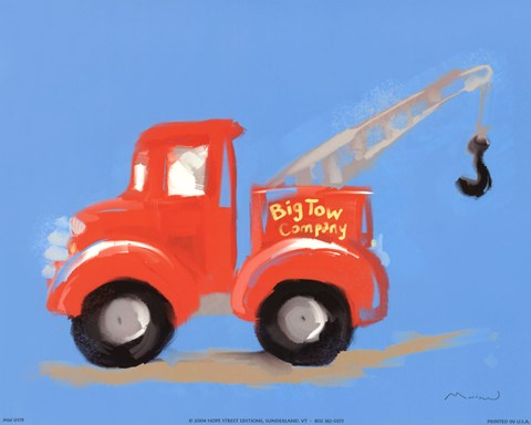 Framed Big Tow Company Print