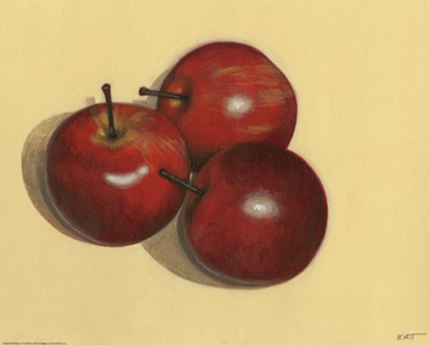 Framed Red Delicious Print