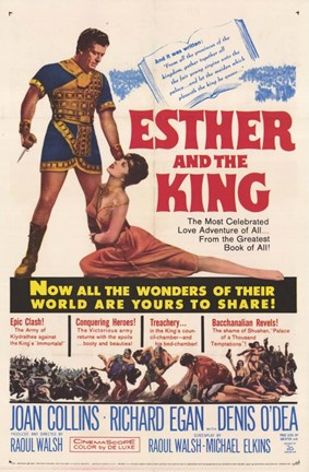 Framed Esther and the King Print