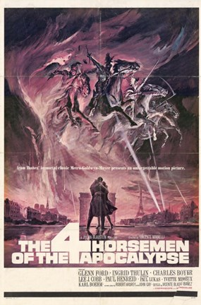 Framed Four Horsemen of the Apocalypse Print