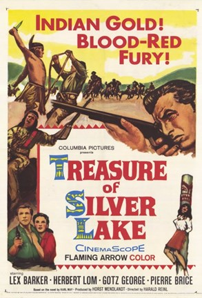 Framed Treasure of Silver Lake Print