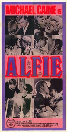 Framed Alfie Screen Shots Print