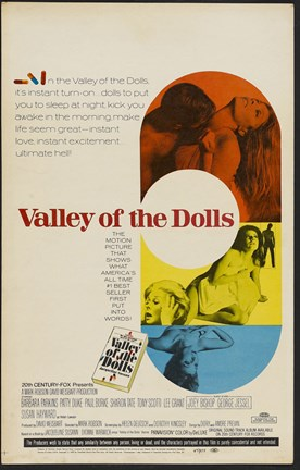 Framed Valley of the Dolls Print