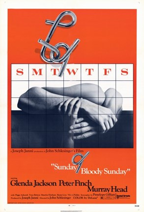 Framed Sunday Bloody Sunday The Movie Print