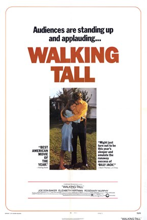 Framed Walking Tall Audiences are Applauding Print